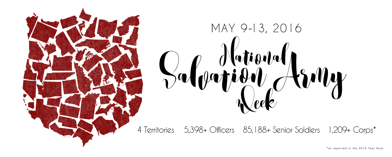 National Salvation Army Week 2016 – Women\'s Ministries